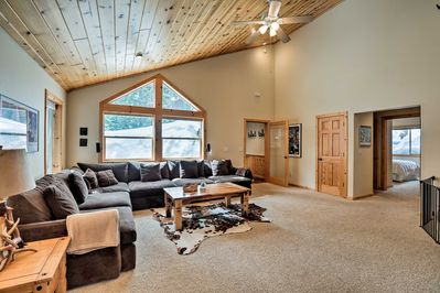 Pack your outdoor gear for a fun stay at this Tahoe Donner vacation rental!