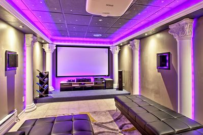 Have numerous family movie nights in the theater room!