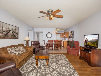 Photo for 3 Recliners, Private Riverside Balcony, Ticket to Area Shows
