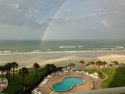 The rainbow ends here!
