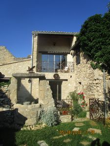 Photo for House with character in the heart of the village of Robion at the foot of the Luberon