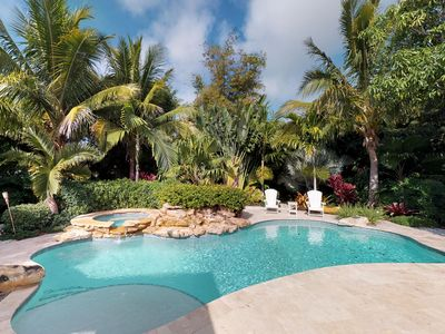 Photo for Freshly remodeled house with heated private pool and tropical style