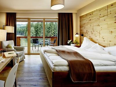 "Photo for Double room ""Rosemary"" - Sonnberghof, Landhotel Gut"