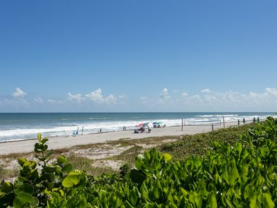 Photo for **NEW** WALK TO BEACH AND HEATED POOL! Beachside Paradise One Block from Ocean!