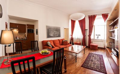 Photo for Great 3Room Family Apartment by Charles Bridge!