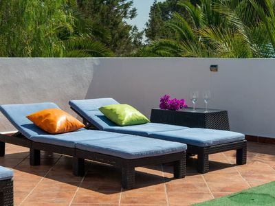Photo for Quiet magnificant local villa between St Antonio and San José and private pool