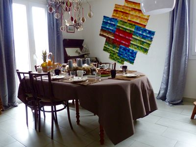 Photo for Comfortable house at the foot of the vineyard in Alsace near Colmar