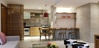 Photo for Totally RENOVATED LUXURY MODERN 2-suite apartment, comfortable and welcoming ...