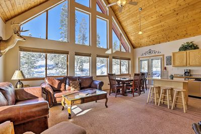 Dive into your own Rocky Mountain paradise with this cozy vacation rental.