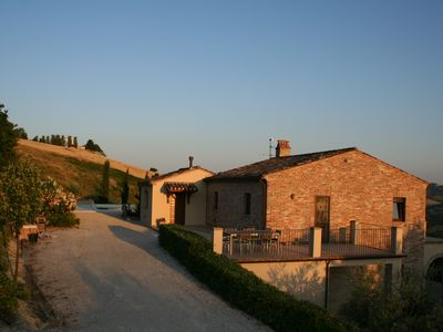 Photo for Holiday villa with pool in the Marche, near the coast