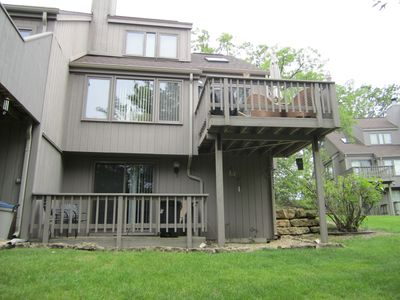 Back View of Townhome