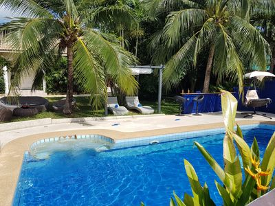 Photo for Pool & Tropical Garden View Villa