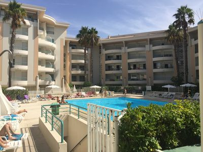 Photo for T2 residence international open, beds made, WIFi, pool, beach