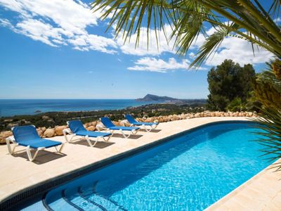 Photo for A HIGH CLASS VILLA WITH A BREATHTAKING VIEWS UNDER THE SPANISH SUN
