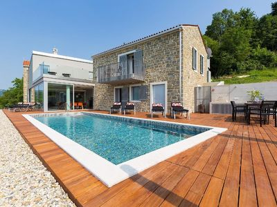 Photo for Holiday house Buzet for 8 persons with 4 bedrooms - Villa