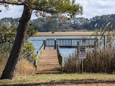 Photo for Waterfront Living at its finest on Chincoteague Island!