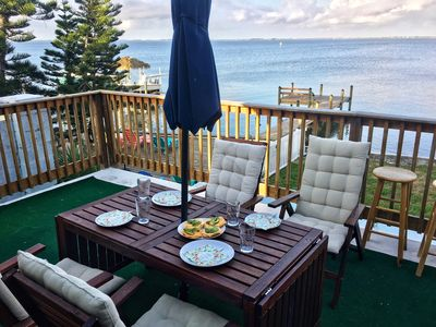 Enjoy your breakfast on the balcony and have a BBQ with a sunset