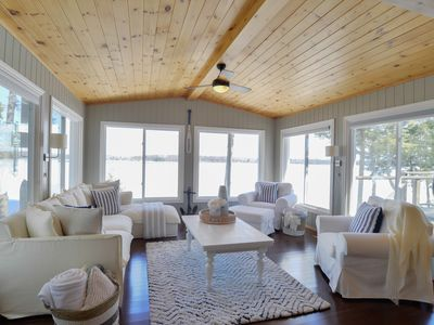 Photo for Gorgeous Lake Muskoka Cottage with Amazing Views & Hot Tub