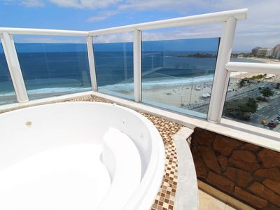 Photo for CaviRio - Penthouse with private pool - Copacabana (F8)