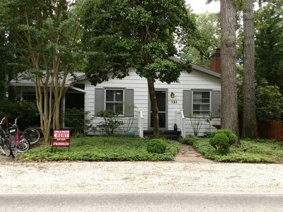 Photo for Quaint House for Rent in the Pines, walking distance to Rehobeth Avenue