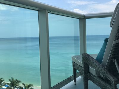 Photo for BEACHFRONT LUXURY - Direct Oceanview 2 Bed / 2 Bath Condo in the Tides Resort