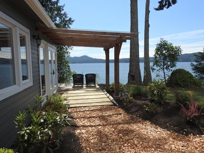 Photo for Ocean Front Cottage in Sooke on Vancouver Island Kayaking Hot Tub