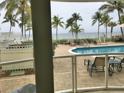Photo for Direct OCEAN/Beach/Pool AWESOME AREA,VIEWS! Best Price for Direct Oceanfront!