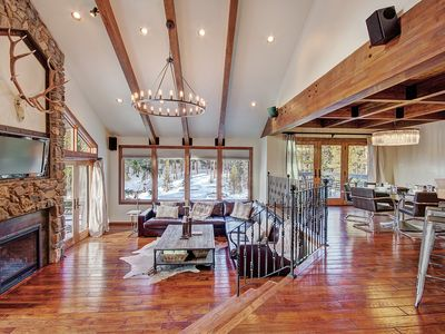 Photo for FREE SkyCard Activities - Large Luxury Retreat, Private Hot Tub, 7 Bedrooms - Summit Solitude Estate