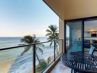 Photo for Waterfront condo with shared pool, hot tub, & gorgeous sunset views