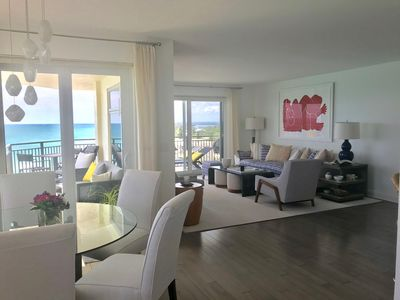 Photo for Breathtaking beachfront oasis - ocean views every room