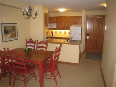 Photo for 1BR+pullout Pano Springs Bldg(the BIG hotpools!) UpperVillage TRUE Ski In/SkiOut