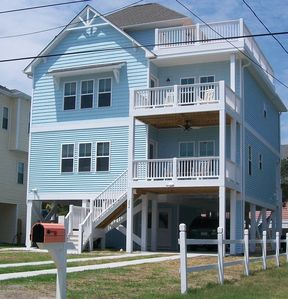 Photo for Atlantis - Big Blue House/Family Fun/Ocean View/Amazing Top Deck