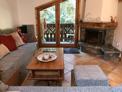 Photo for Unusual chalet apartment in perfect Chamonix location