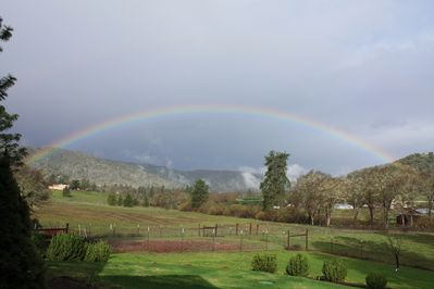 Rainbow on first day of spring 2016!