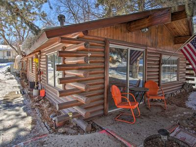 Photo for Walk to Lava Hot Springs Pools from Cozy Cabin!