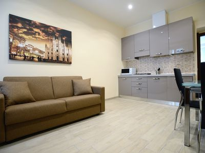 Photo for Beautiful apartment elegant Sempione area