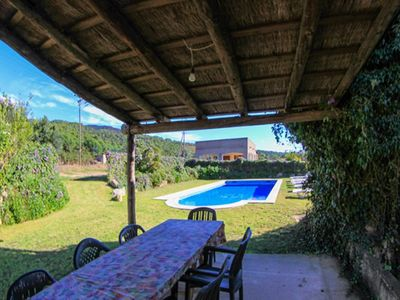 Photo for Club Villamar - Pretty rustic style house with private pool and large garden natural grass for a ...