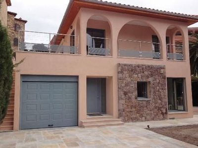 Photo for Rental apartment ds villa situated 50 meters from the beach