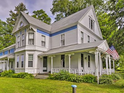 Photo for Victorian Home Near Cooperstown w/Fire Pit & Yard!