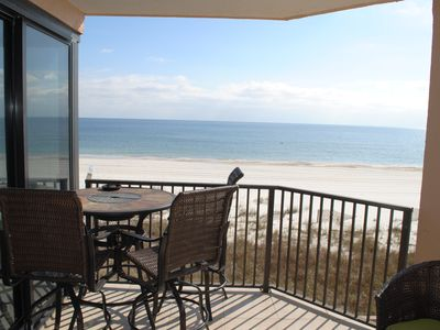 Photo for UPDATED oceanfront condo-Just steps from the beach & blocks from the FloraBama!!
