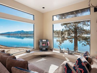 Photo for The Point: 5 bedrooms with Bathrooms! Lakefront! Mountain Views! Internet! Luxury!