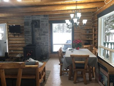 Log chalet at only 75 minutes from Ottaw