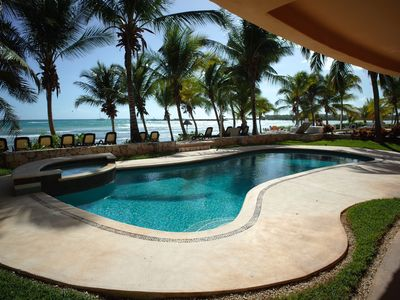 Photo for OCEAN FRONT, POOLSIDE CONDO-- FAMILY HOLIDAY PERFECTION