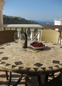 Photo for Spacious modern villa. 3 sun terraces, private pool and great views. Free WiFi