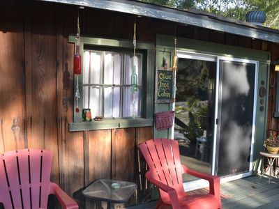 Photo for Come Relax At The Olive Tree Cabin