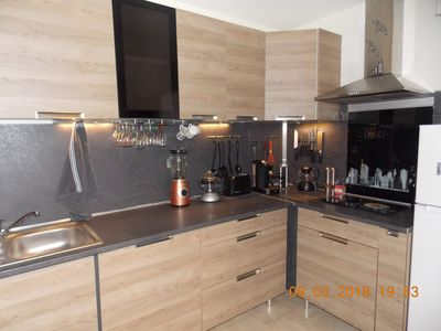 Photo for F2 1 bedroom, living room, kitchen, bathroom, terrace, tourist tax included ref
