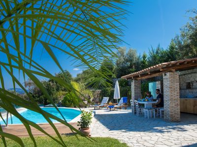 Photo for VILLAS DANAE - Nested on Lefkada Town Hill