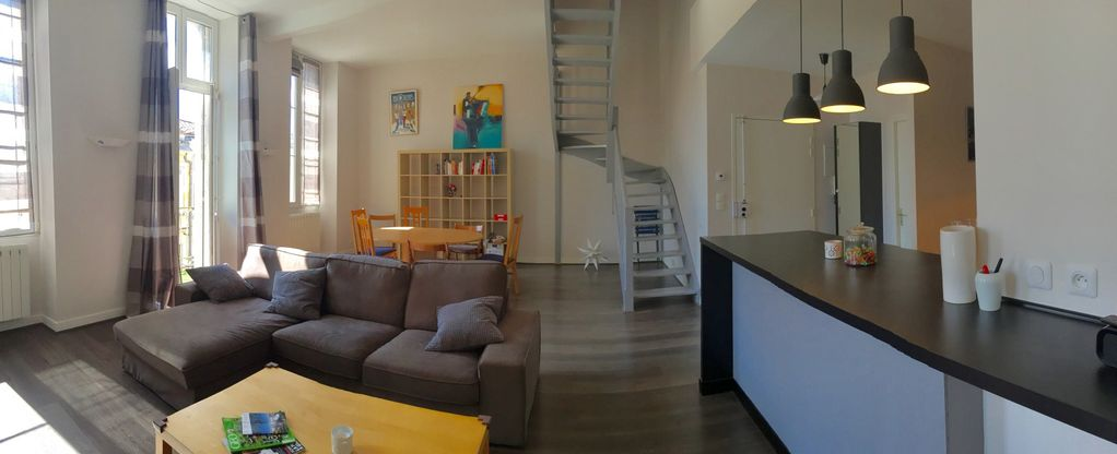 Le montgolfier appartement pour 6 personnes bordeaux for Appartement bordeaux chartrons location