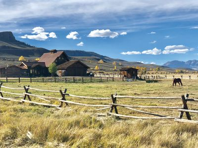 Photo for Unique 40 AC Horse Friendly Ranch Renovated 1850 Miners Cabin w/3000 SF Addition