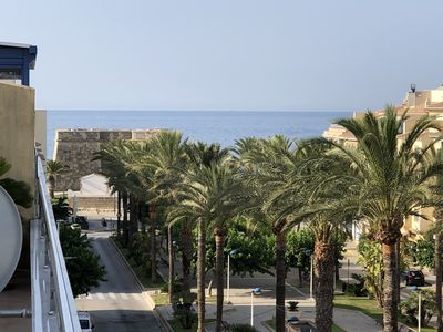 Photo for Apartment, Penthouse, Atico, sea view 50M from the beach